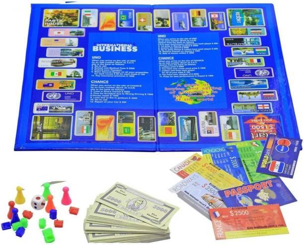 Tuski International Business A Board Game. Kids Toys Games, Bonanza Game of Money Money & Assets Games Board Game