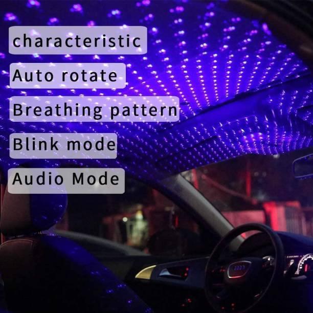play run Rotating Tail Star Light Car Fancy Lights