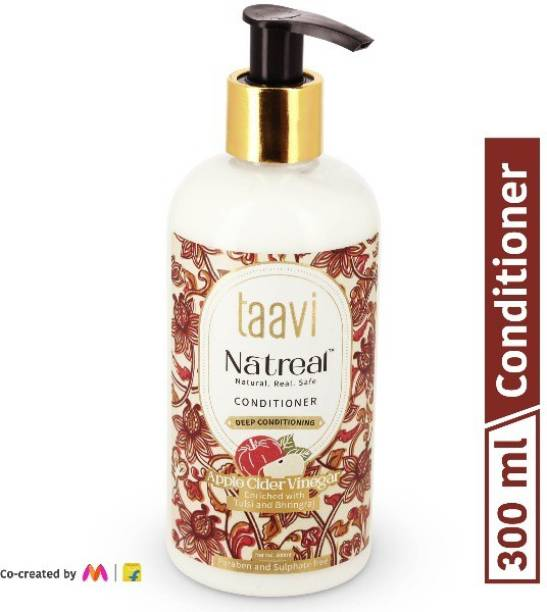 Taavi Natreal Apple Cider Vinegar Conditioner for Deep conditioning - NO Harmful chemicals, only real ingredients