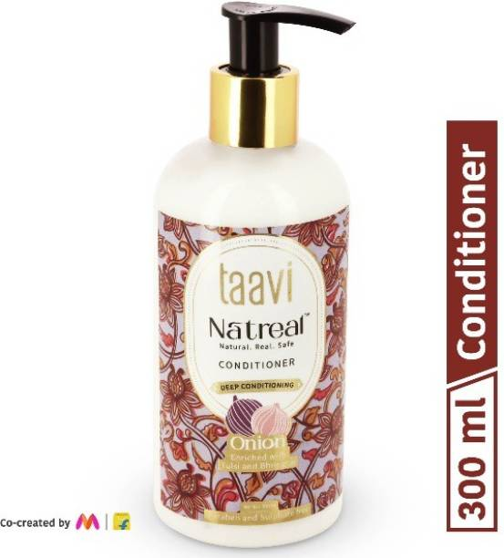 Taavi Natreal Onion Conditioner for Deep conditioning - NO Harmful chemicals, only real ingredients