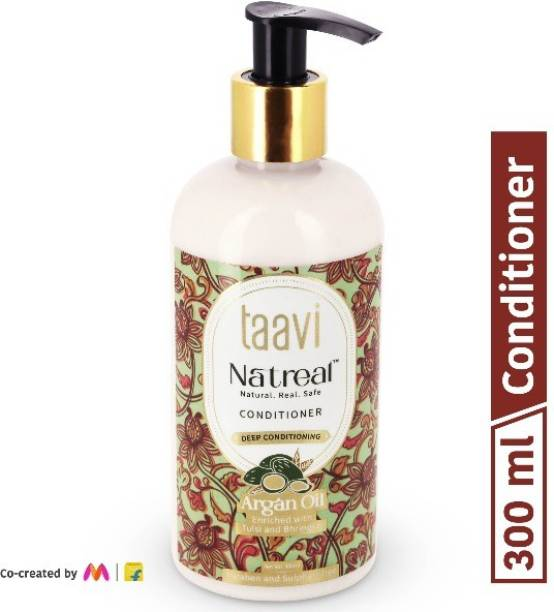 Taavi Natreal Argan Oil Conditioner for Deep conditioning - NO Harmful chemicals, only real ingredients
