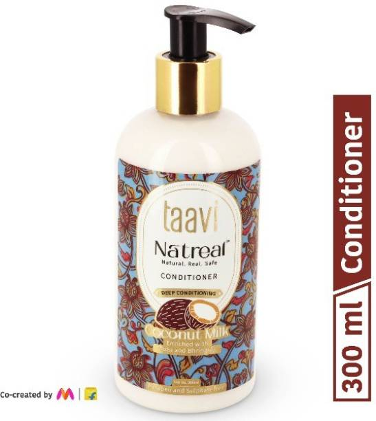 Taavi Natreal Coconut Milk Conditioner for Deep conditioning - NO Harmful chemicals, only real ingredients