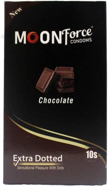 MOONFORCE MOONFORCE_CONDOMS_CHOCOLATE_FLAVOURED_CONDOM_BUY10PIECE_13PIECE Condom