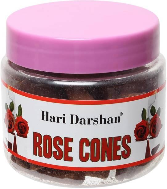 Hari Darshan Rose Jar Cones Rose Dhoop
