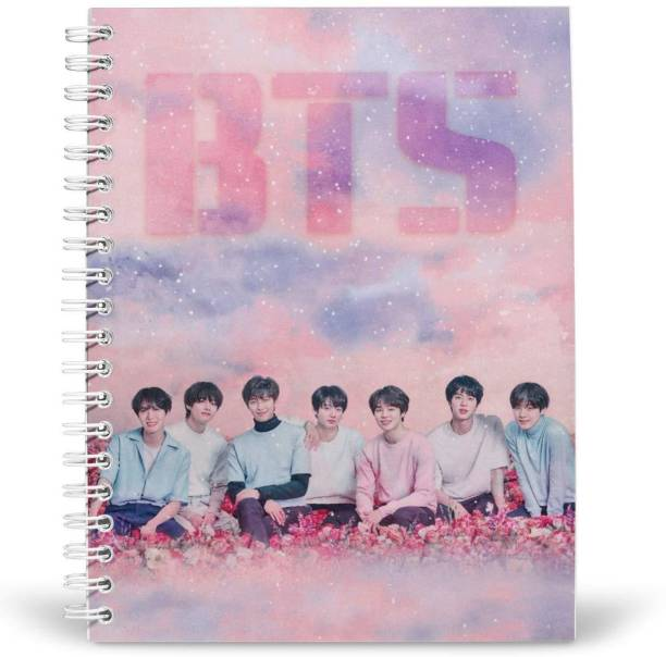 craft maniacs BT21 A5 Diary RULED 160 Pages