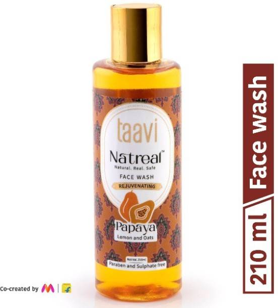 Taavi Natreal Rejuvenation Papaya - NO Harmful chemicals, only real ingredients Face Wash