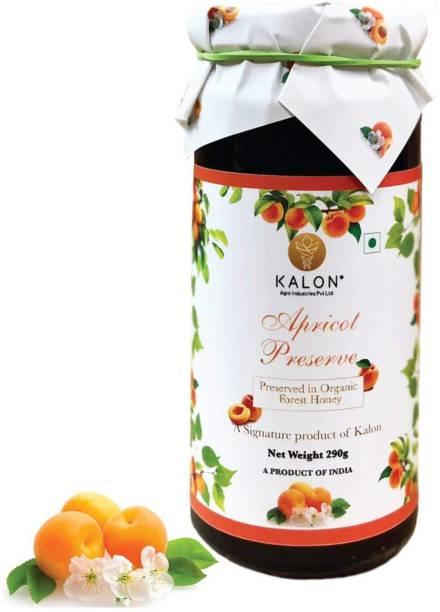 Kalon Apricot Fruit Preserve - Honey Fruit Spread / Jam - No added Sugar 290 g