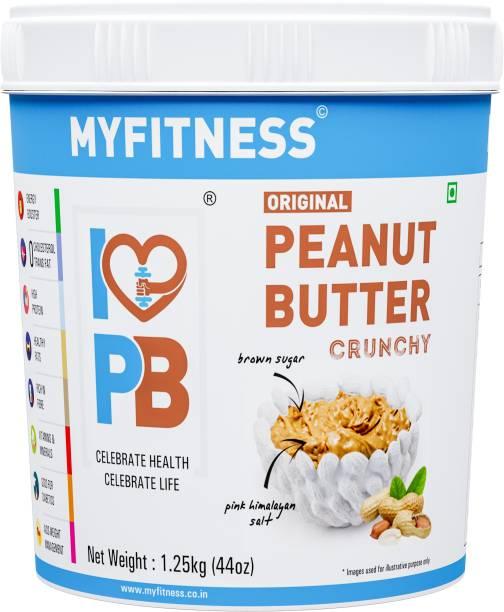 MYFITNESS Crunchy Peanut Butter 1250 g