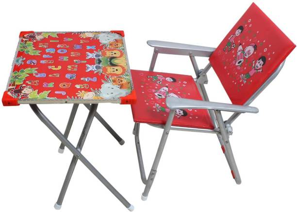 ckone global Beautiful and Modern Kids Study table & Chair Metal Desk Chair