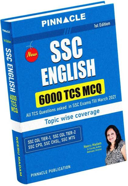 SSC English TCS 6000 MCQ Topic Wise Book I Neeru Madam