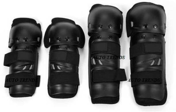 auto trends Knee Guard, Elbow Guard Free Black