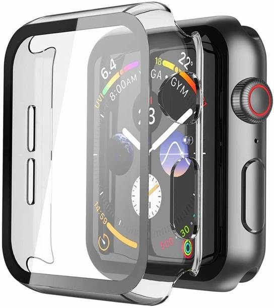 TOUGH LEE Edge To Edge Tempered Glass for Apple Watch series 4 - 40 mm, Apple Watch series 5 - 40 mm, Apple Watch series 6 - 40 mm