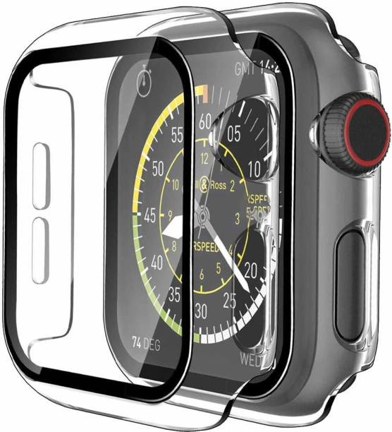 TOUGH LEE Edge To Edge Tempered Glass for Apple Watch series 1 - 42 mm, Apple Watch series 2 - 42 mm, Apple Watch series 3 - 42 mm