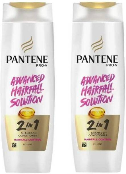 PANTENE ADVANCED HAIRFALL SOLUTION 2 IN 1 SHAMPOO + CONDITIONER (2*180)