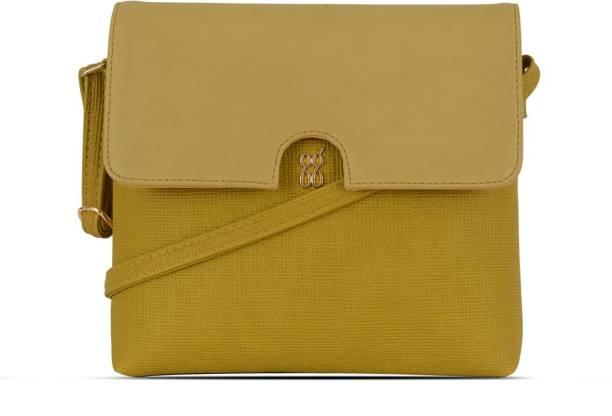 Baggit Yellow Sling Bag Lpxe Kizie
