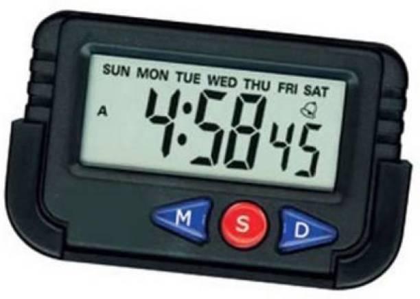 SMB ENTERPRISES Digital Black Clock