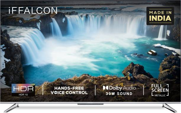 iFFALCON by TCL 138.6 cm (55 inch) Ultra HD (4K) LED Smart Android TV with HandsFree Voice Search