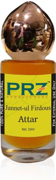 PRZ Jannet-ul Firdous Attar Roll-on For Unisex (10 ML) - Pure Natural Premium Quality Perfume (Non-Alcoholic) Floral Attar
