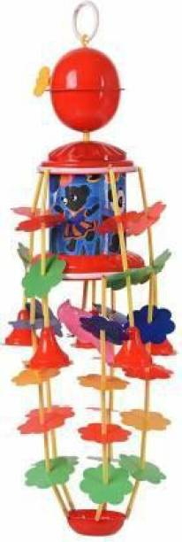 VRUX Infant Jhoomar Musical Cradle Toy for New Born babies Rattle (Multicolor) Rattle