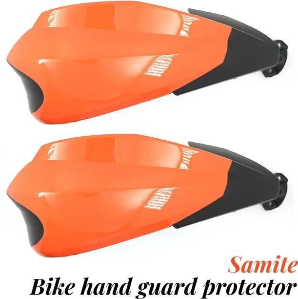 Samite BIKE HAND GUARD PROTECTOR ORANGE Handlebar Hand Guard