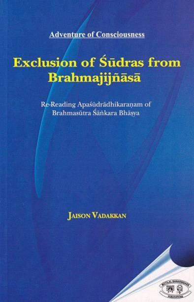 Exclusion of Sudras from Brahmajijnasa