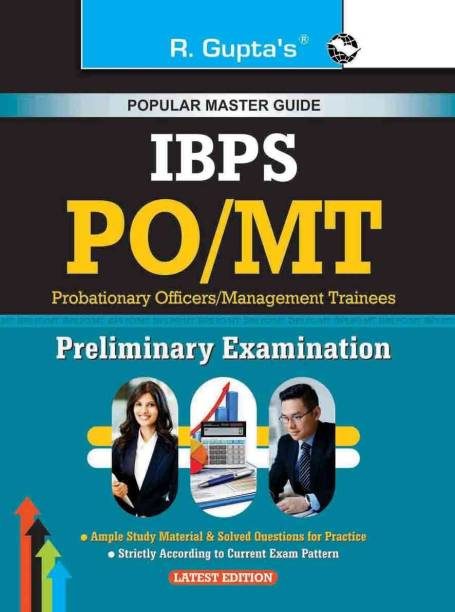IBPS: PO/MT (Probationary Officers/Management Trainees) Preliminary Exam Guide (Big Size)