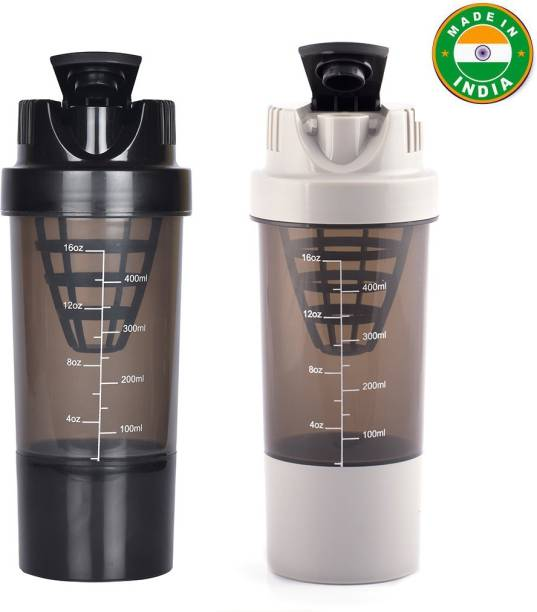 HAANS Cyclone Shakers Combo(set of 2) 1000 ml Shaker