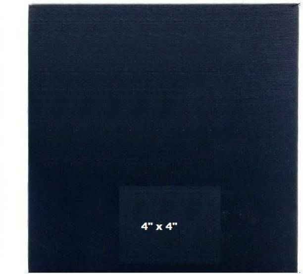"""genuinebattery 4"""" x 4"""" Cotton Acid Free Board Canvas (Set of 1)"""