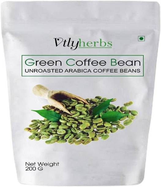 Vtlyherbs Green Coffee Beans for Weight Loss fast Unroasted Arabica Natural Immunity Booster (green coffee beans) Instant Coffee