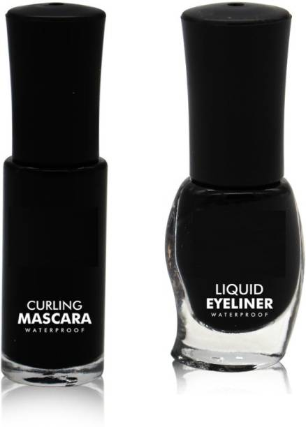 New.You Smudge Proof Liquid Eyeliner With Curling mascara waterproof and Long Lasting