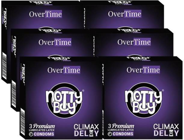 NottyBoy Climax Delay OverTime Condom
