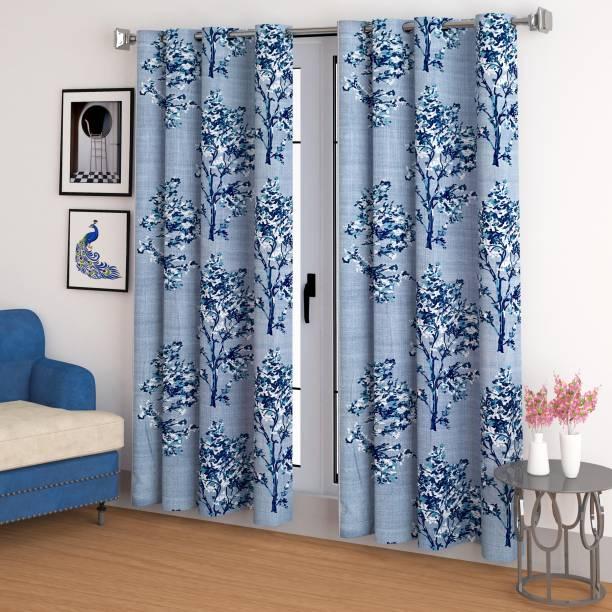 CHHAVI INDIA 213 cm (7 ft) Polyester Door Curtain (Pack Of 2)