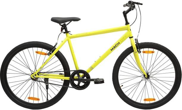 Mach City Single Speed 26T Single Speed Steel Hybrid Cycle 26 T Road Cycle