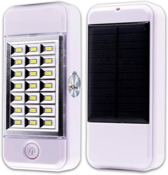 Pick Ur Needs Solar Power Bank Cum 21 Hi-Bright Led Lantern Emergency Light