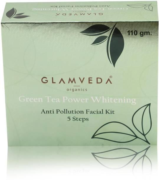 GLAMVEDA Green Tea Power Whitening Facial Kit
