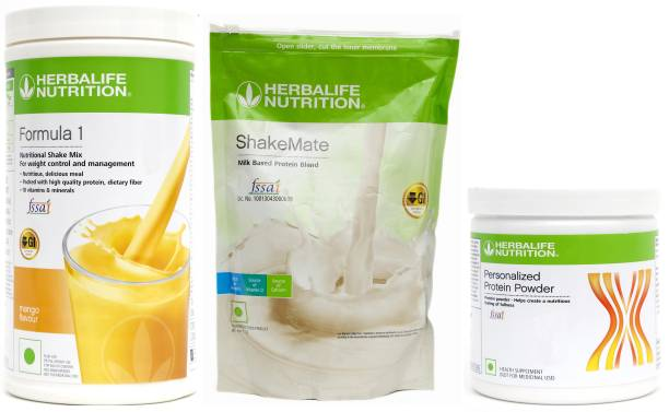 HERBALIFE WEIGHT LOSS SUPER COMBO OF FORMULA 1 NUTRITIONAL SHAKE MIX + PPP 200 + SHAKEMATE Nutrition Drink