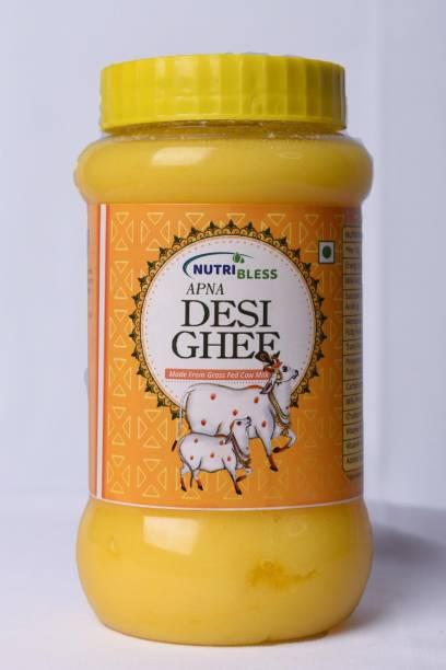 Nutribless Apna Cow Ghee Ghee 1000 ml Plastic Bottle