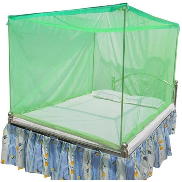 BAEBEE Nylon Adults Parrot Green color(5x6 1/2 ft) Mosquito Net