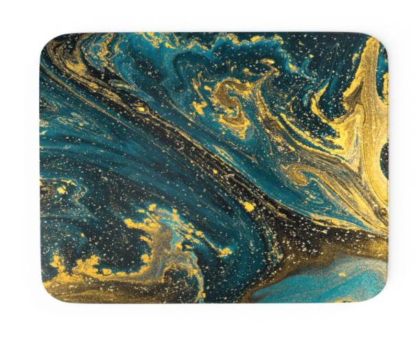 Tongues n grooves MARBLE FINISH DESIGN Mousepad