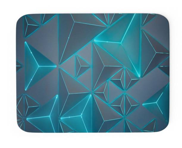 Tongues n grooves ABSTRACT ART DESIGN Mousepad