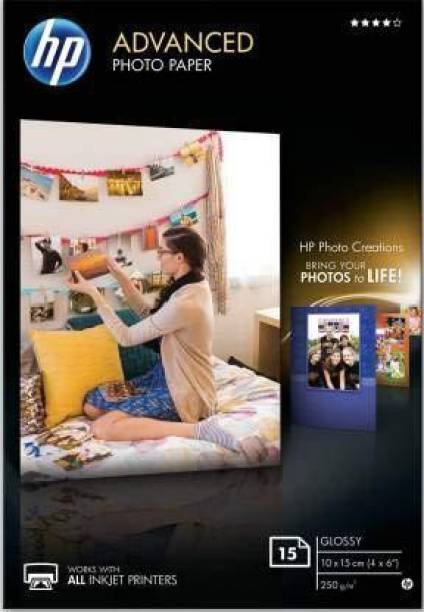 HP glossy UNRULED 10X15CM 250 gsm Photo Paper