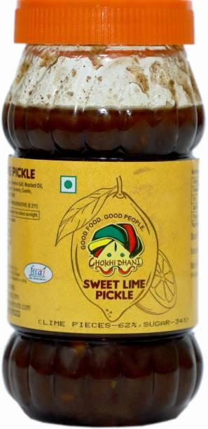 Chokhi Dhani Foods Sweet Lime Pickel 500 gm Lime Pickle