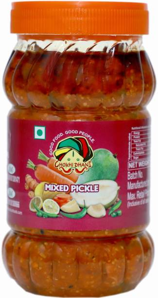 Chokhi Dhani Foods Mix Pickle 1 kg Mixed Pickle