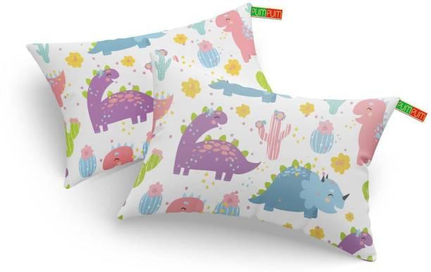 PUMPUM Kids pillow Microfibre Animals Sleeping Pillow Pack of 2