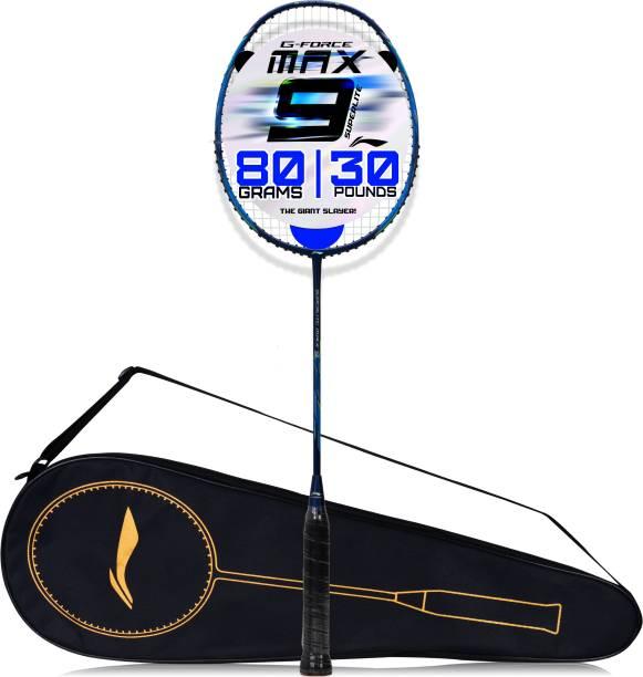 LI-NING G-Force Superlite Max 9 Blue Strung Badminton Racquet