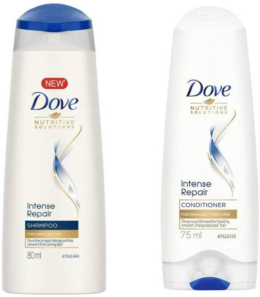 DOVE Intense Repair Shampoo 80ml & Conditioner 75ml