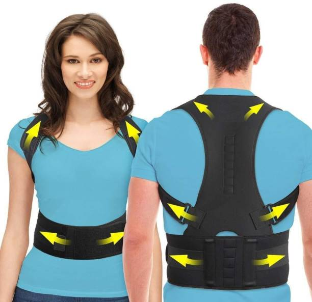 HOPZ Back Brace Posture Corrector Therapy Shoulder Belt, Back Pain Relief Back Support Back Support