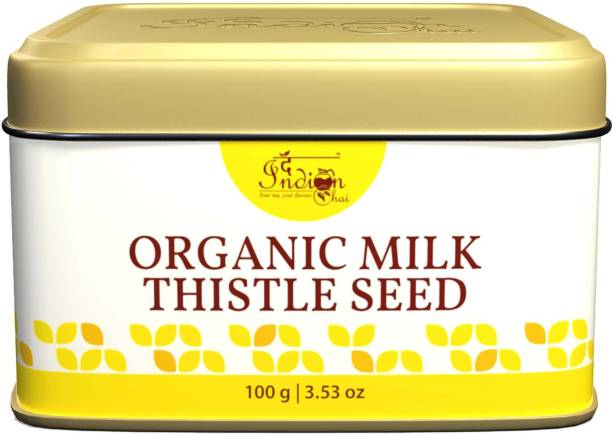 The Indian Chai Organic Milk Thistle Seed for Boosting Liver Health and Lowering Cholesterol Tea Vacuum Pack