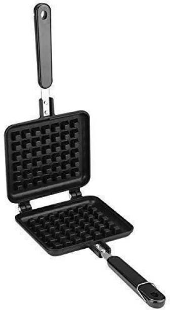 jktraders Non Stick Waffle Maker Mould for Gas Burner Stove Waffle Maker