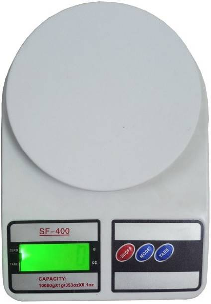 Sillcon SF 400 Electronic Digital 1Gram-10 Kg Weight Scale Lcd Kitchen Weight Scale Machine Measure for measuring fruits,shop,Food,Vegetable,vajan,offer,kirana kata,kirana weight machine Weighing Scale for grocery,kata,taraju,shop,computer kata,vajan kata,tarazu,jewellery kata,sabzi,kirana,taraju,vajan kata,sabzi taraju,shop kata,kata machine shop taraju, 1Gram-10kg,kata10kg Weighing scale (White) Weighing Scale Weighing Scale (Multicolor) Weighing Scale